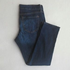 Old Navy boyfriend straight/Droit blue jeans